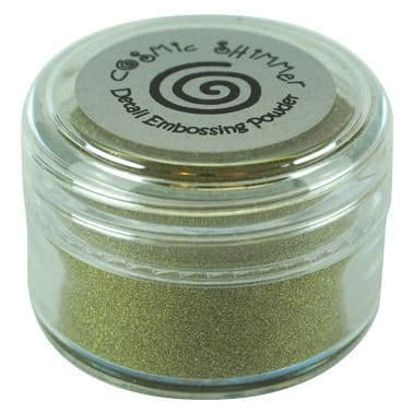 Cosmic Shimmer Detail Embossing Powder Bright Gold 20ml